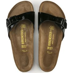 45ad007c8ef7 BIRKENSTOCK Madrid Birko-Flor Patent in all sizes ✓ Buy directly from the  manufacturer online ✓ All fashion trends from Birkenstock