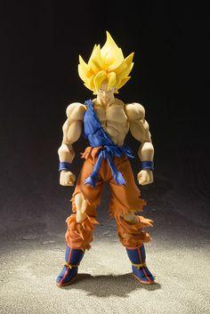 Dragon Ball Z Action Figure - S.H. Figuarts Super Saiyan Son Goku Chou Senshi…