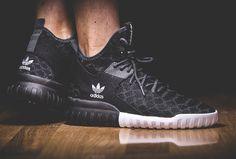Adidas Tubular X Primeknit Black Snake