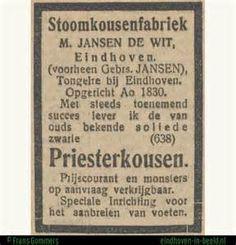 Zwarte priesterkousen van Jansen De Wit.