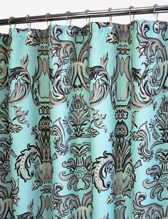 teal and brown shower curtains - Google Search | Furniture Options ...