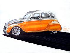 skip foose | Ilustraciones de Autos 2011 - Estilo Chip Foose - Imagenes De Autos