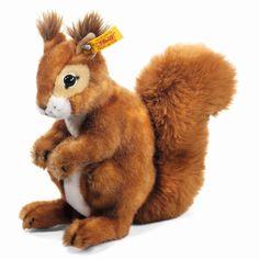 Stuffed Animals Squirrel 'Niki' Steiff USA Online EAN 045141