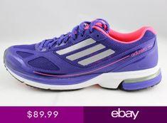 newest e86a3 e4c97 Womens Adidas Adizero Boston 4 W Marathon Q21563 PurpleSilver NWT Running