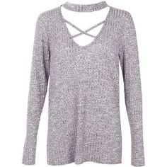 Boohoo Rosey Ribbed Strappy Choker Tee | Boohoo (26 CAD) ❤ liked on Polyvore featuring tops, t-shirts, polyester t shirts, rib top, rib t shirt, flat top and ribbed tee