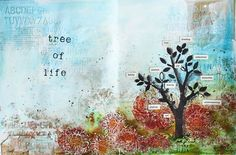 Tree of life Stephanie Schutze artist gang tuesday Donna Downey