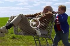 Official trailer for Bad Grandpa. Definitely will be rated R when it comes out, but the longer you watch the trailer, the better it gets. The end is the best