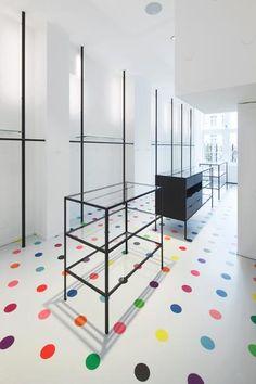 Interieur kledingwinkel in Maastricht door Maurice Mentjens - alle projecten - projecten - de Architect