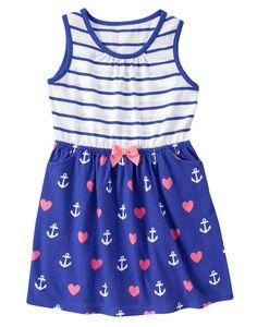 Hearts & Anchors Dress at Gymboree
