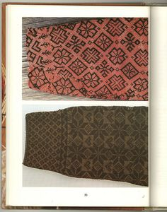 twine knitting motifs by Avalanche Looms, via Flickr
