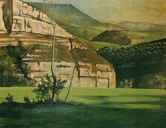 La falaise, 1938 - Balthus