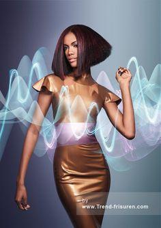 WELLA Mittel Braun weiblich Gerade Farbige Multi-tonalen Entspannt Ethnische Frauen Schwarz Frisuren hairstyles