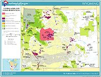 Free Printable Maps Of Us States Shows Blm Land National Forests National Parks Bia Land Etc