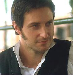 """oooh Mr. Thornton. you say you want to kiss me!? At a public train station!?!? naughty!"" Richard Armitage in North and South."
