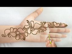 Latest Arabic Mehndi Designs, Rose Mehndi Designs, Finger Henna Designs, Back Hand Mehndi Designs, Full Hand Mehndi Designs, Mehndi Designs For Beginners, Mehndi Design Photos, Wedding Mehndi Designs, Mehndi Designs For Fingers
