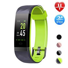 Letsfit Fitness Tracker HR Color Screen Heart Rate Monitor Watch Smart Activity Tracker Watch Waterproof Step Calorie Counter Sleep Monitor Pedometer Watch for Women Men Kids Fitness Tracker, Top Fitness Watches, Smartwatch, Sport Watches, Watches For Men, Activity Tracker Watch, Fitness Armband, Track Workout, Heart Rate Monitor