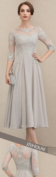 Neutral colors are a strong winter trend this year! This dress will bring a trendy yet sophisticated touch to your outfit! Shop yours by clicking on the picture! Mother Of The Bride Dresses Long, Mother Of Bride Outfits, Mothers Dresses, Wedding Dresses Plus Size, Wedding Party Dresses, Elegant Maternity Dresses, Pretty Dresses, Beautiful Dresses, Bride Groom Dress