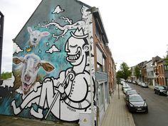 SMOK & Joachim CooL street Graffiti Urban art Things, check https://www.etsy.com/shop/urbanNYCdesigns?ref=hdr_shop_menu