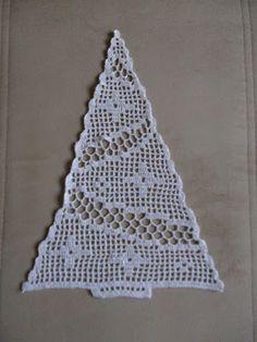Crochet Christmas Decorations, Crochet Ornaments, Christmas Crochet Patterns, Holiday Crochet, Crochet Snowflakes, Xmas Decorations, Christmas Crafts, Crochet Tree, Crochet Hats