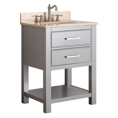 Avanity BROOKS-VS24-CG Brooks 24-in. Single Bathroom Vanity - BROOKS-VS24-CG-B