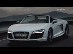 The Audi R8 Spyder: Breathtaking