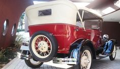 Ford Modelo A Phantom de LL Carros Antigos