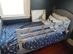 Lovely Twin toddler Bed with Rails