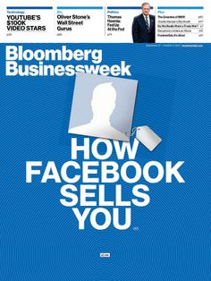 Facebook on the cover Bloomberg Businessweek