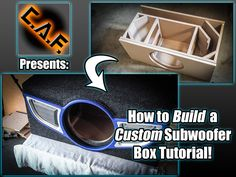 Want to learn how to build a custom subwoofer box ? This video tutorial will teach you step by step the process to a custom car audio enclosure !