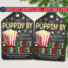 Christmas Popcorn, Neighbor Christmas Gifts, Neighbor Gifts, Christmas Ideas, Xmas, Christmas Favors, Christmas Room, Christmas Games, Christmas 2014