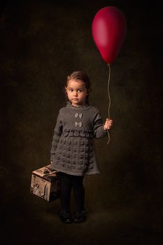 Girl And Balloon by Bill Gekas, via 500px