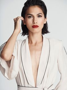 fadedtoblue: I'm not going to stop at one, ten,. : The Queens of Beauty Elodie Yung, Girl Celebrities, Celebs, Pretty People, Beautiful People, Female Samurai, Fc B, Young Actresses, Wattpad