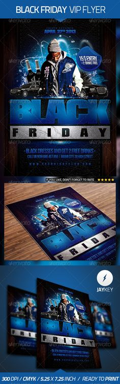 Black Friday Flyer Template — Photoshop PSD #hip hop #rap • Available here → https://graphicriver.net/item/black-friday-flyer-template/4527400?ref=pxcr