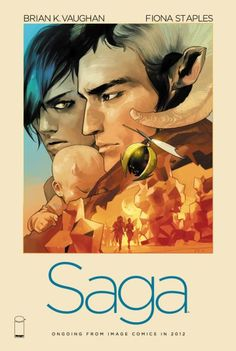 Saga is one of my favourite graphic novels!