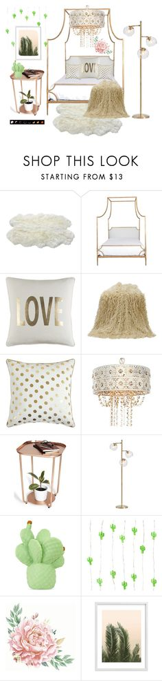 """""""First ever room set! Comment thoughts!! 💋"""" by fashion-baby13 ❤ liked on Polyvore featuring interior, interiors, interior design, home, home decor, interior decorating, Luxe Collection, Niermann Weeks, PBteen and Goodnight Light"""