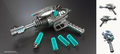 Fallout Weapon - Alien Blaster by eoinwhite