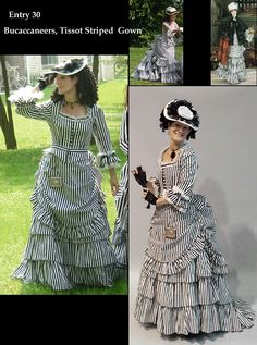 2009 USA Best Victorian Day Bustle Gown In the WORLD, Victorian Dress- Bustle Dress, Victorian Costume, Vintage Clothing, Vintage Clothes Victorian Era Dresses, Victorian Gown, Victorian Costume, Victorian Steampunk, Victorian Fashion, Gothic, Costume Steampunk, Steampunk Clothing, Vintage Gowns