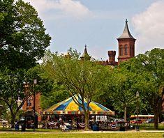Smithsonian Carousel, Washington, D.C. - America's Best Carousels | Travel + Leisure