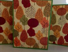Trees Notes Nature Note Cards Trees by AnniesPaperGarden on Etsy