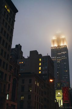 Empire State of Fog byjuliayusupov