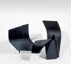 Collection Online | Jorge Oteiza. Empty Construction with Five Curved Malevich Units (Construcción vacía con cinco unidades Malevich curvas). 1957 - Guggenheim Museum