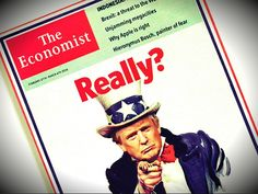 The Economist is panicking because the globalist obsession with democracy as a priority is being challenged by President Trump