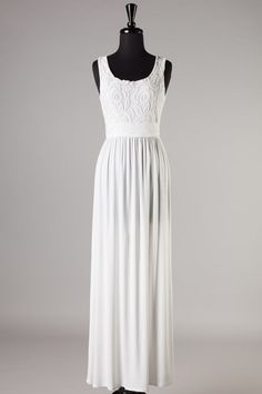 Vision in White Maxi Dress