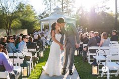 Wedding Ceremony, first married kiss, perfect day