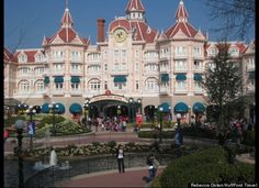 Would love to go to Paris and stay in the Disneyland hotel.  Awesome