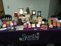 Scentsy booth! sprickett.scentsy.us