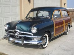 1950 ford station wagon   1950 Ford Woodie Station Wagon