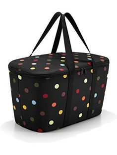 Reisenthel Multi Dots Coolerbag - Kylväska 20 L Tadao Ando, Plaque En Fonte, 20 L, A Little Lovely Company, Design3000, Red Design, Polka Dot Print, Courses, Bedding