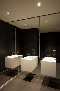 find this pin and more on commercial design - Restroom Design