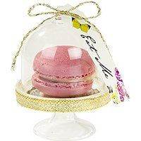 Talking Tables Truly Alice Curious Tea Party Cake Domes (6 Pack), Multicolor